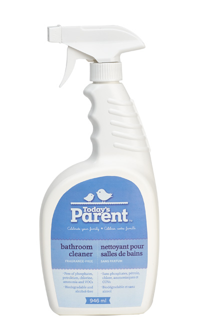 Today's Parent Bathroom Cleaner